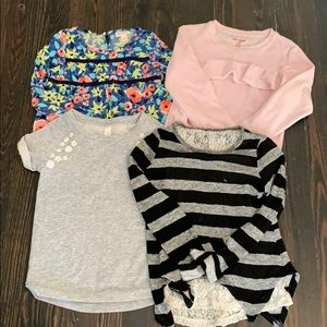 Cat & Jack • Bundle Of 4 girls tops